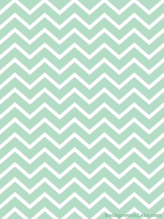 Mint Green Chevron Stripes | Mint green wallpaper iphone ...