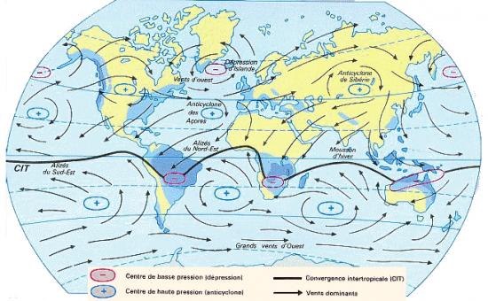 carte des vents monde Résultat de recherche d'images pour