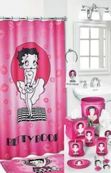 Shower Curtain Bettyboop Hello In Spring Big Book Pt 2 From