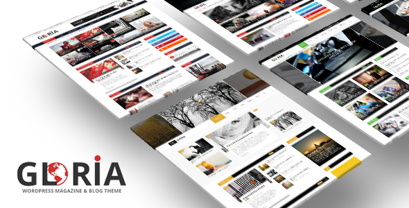 cool Gloria - Several Ideas Weblog Magazine WordPress Theme (News ...