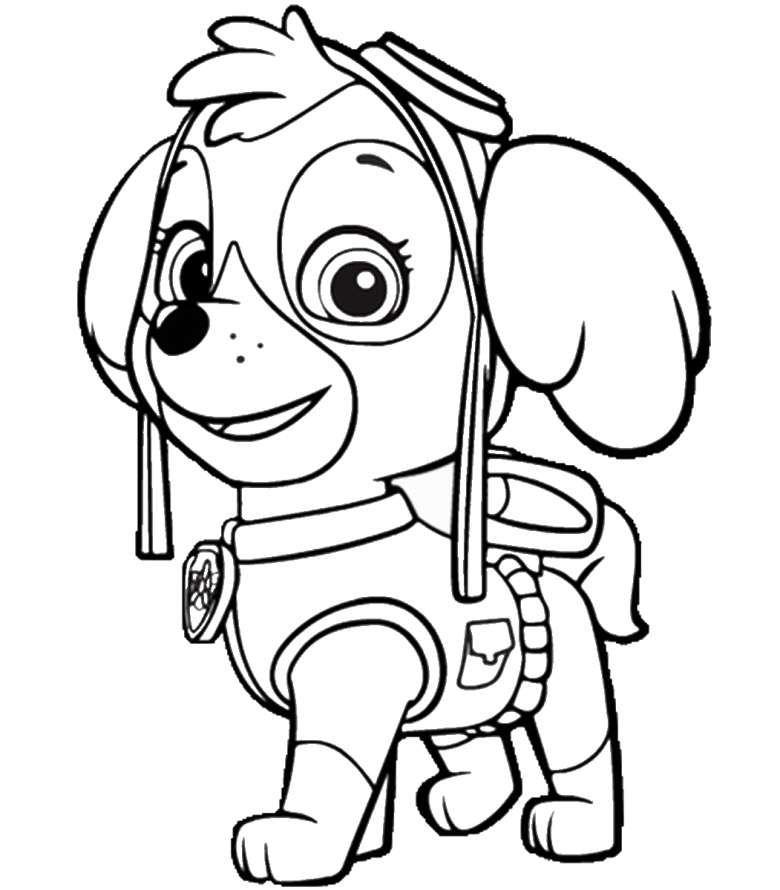 Dibujos Divertidos Patrulla Canina Colorear Patrulla Canina Patrulla Canina Para Pintar Patrulla Canina Dibujos