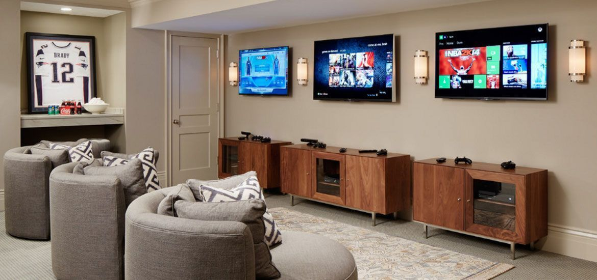 The Most Amazing Video Game Room Ideas To Enhance Your Basement Boys Game Room Small Game Rooms Video Game Bedroom