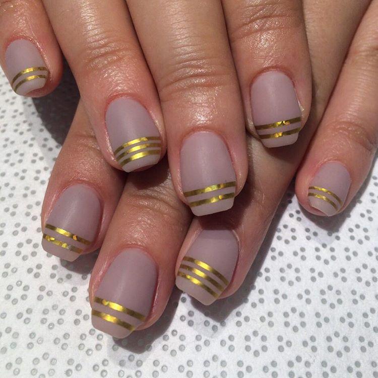 @ayumutksw #Ayumu #handpainted #mattenails #gelnail #nailart #VanityProjects  (at Vanity Projects)