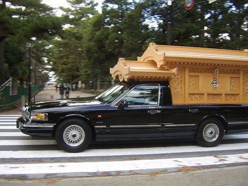 Ornamental hearse