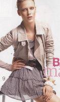 PATRONES №308 ESPECIAL otono 2011 сентябрь Модель 9. Платье с воланами