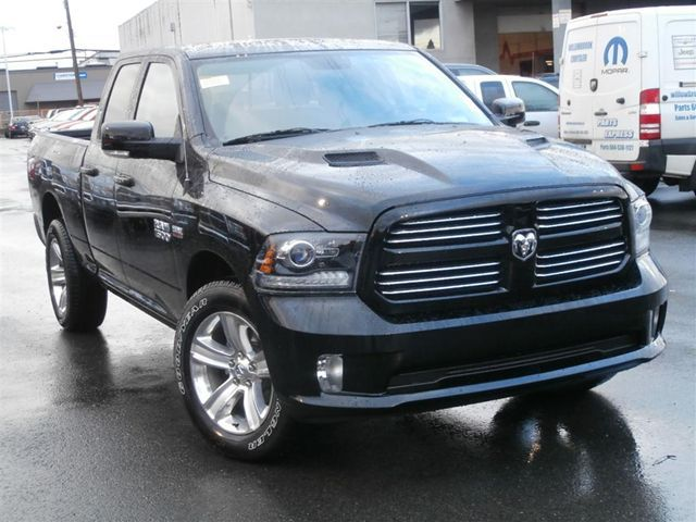 2013 ram 1500 sport black with sport performance hood. Black Bedroom Furniture Sets. Home Design Ideas