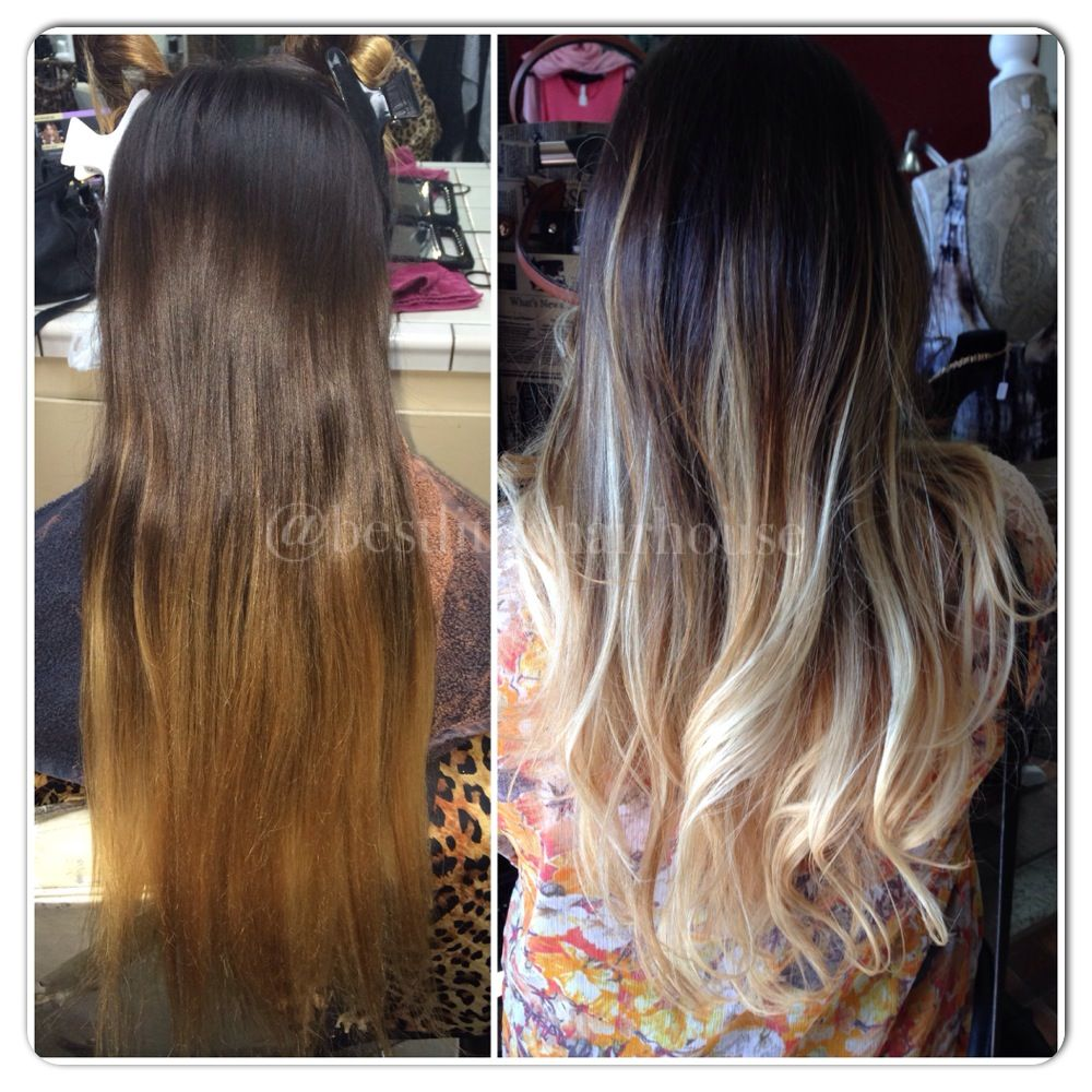 Before Amp After Balayage By Bree Thebestlittlehairhouse Hair Salon Long Hair Styles Hair Styles Hair