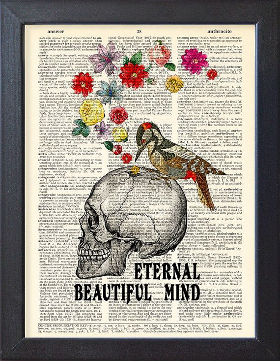 Frame included Beautiful Mind