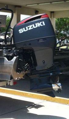 250ss In Matte Black Finish Suzuki Outboard Outboard Motors