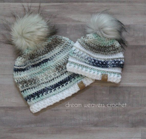 Mommy and Me Beanies - The Overwhelmed Mommy Blogger 81e6fca1170b