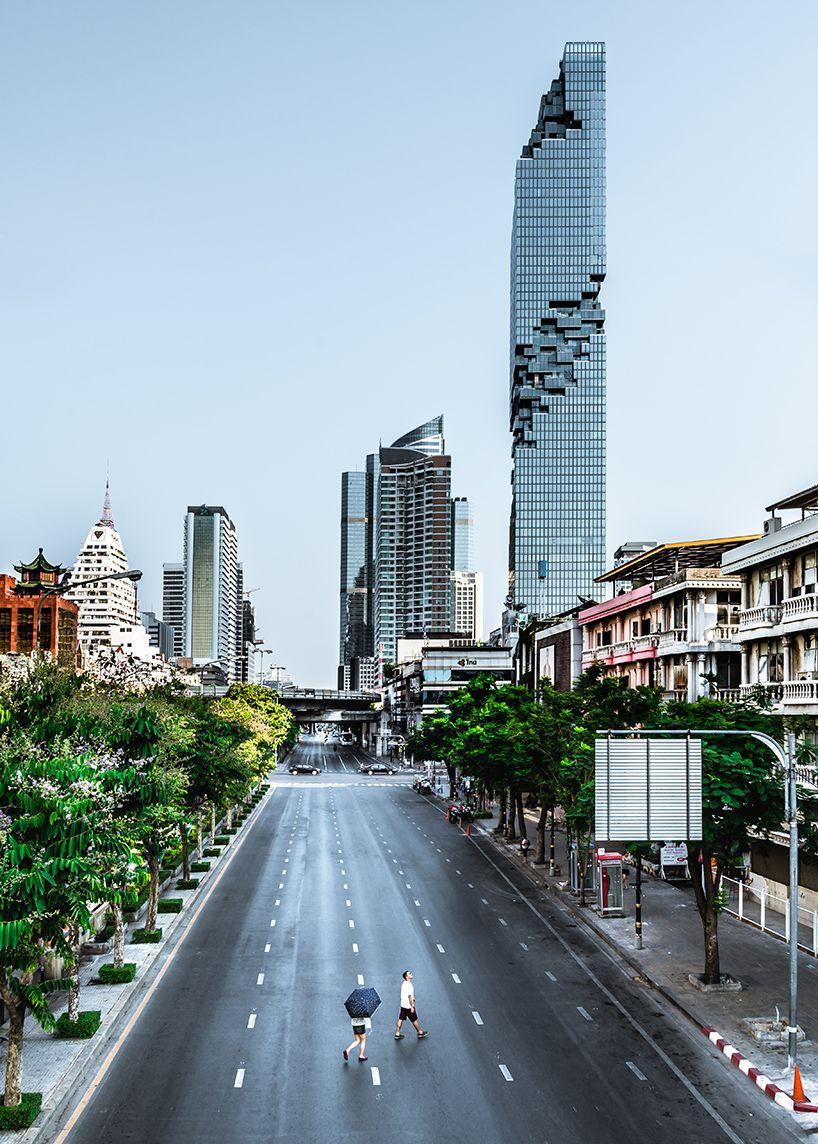 MahaNakhon by ole scheeren is thailand\'s tallest building ...