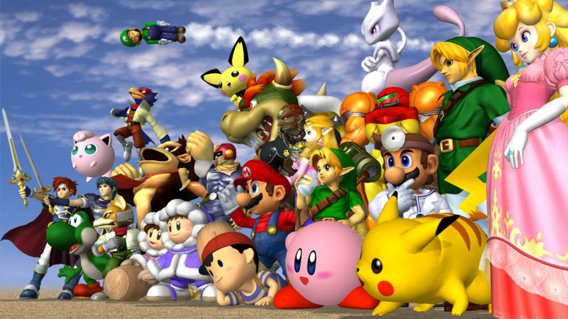 1920x1080 Background In High Quality Super Smash Bros With