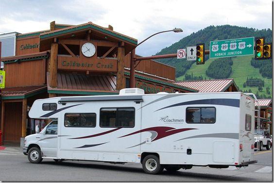 Coachmen Class C Motorhome in Jackson, Wyoming | Motorhome ...
