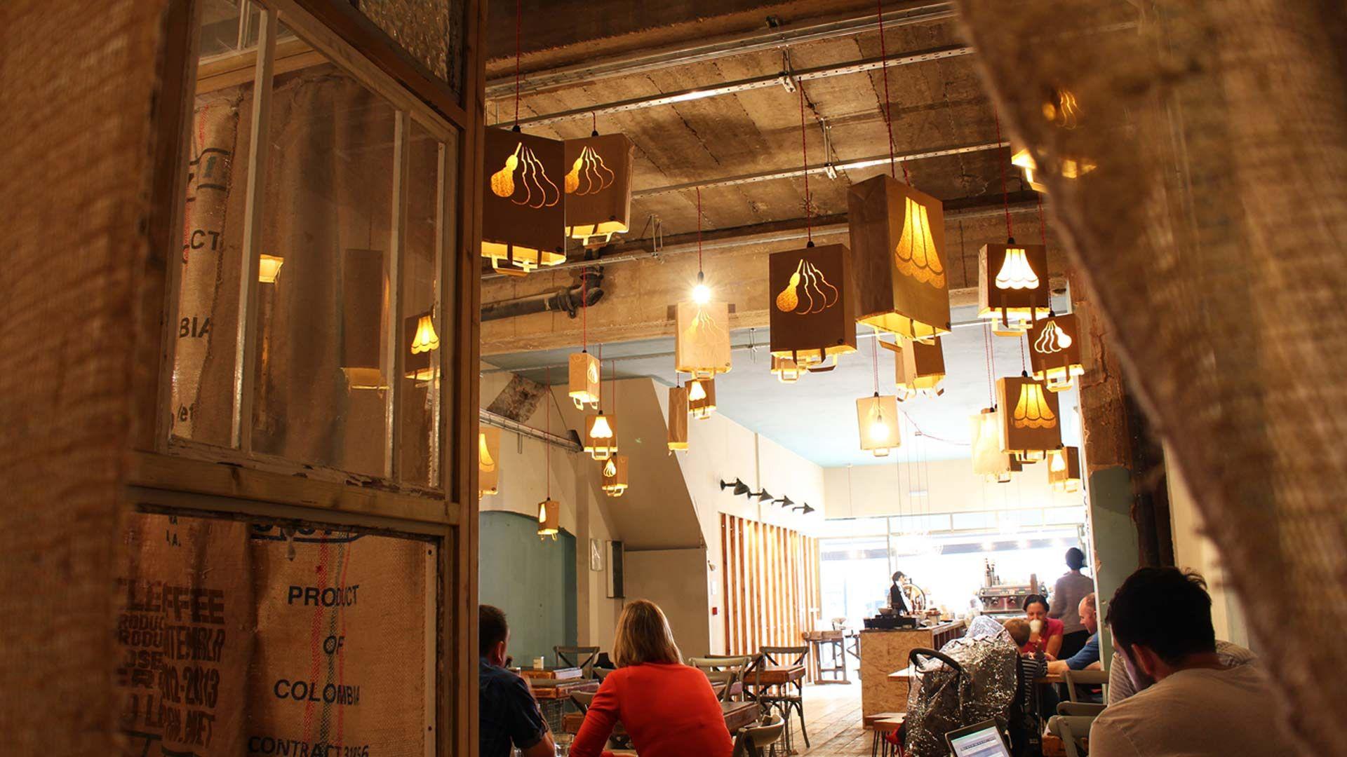 Artisan Coffee Shop Ealing Broadway  Liqui Design