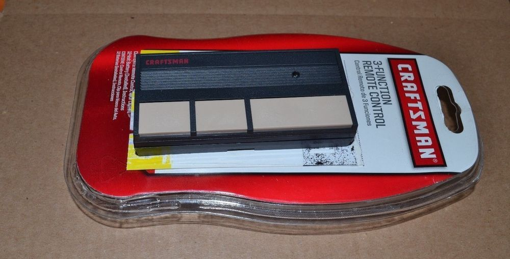 Craftsman Garage Door Opener Remote Classic 3 Function Free Shipping 53778 Garage Door Opener Remote Craftsman Garage Door Opener Craftsman