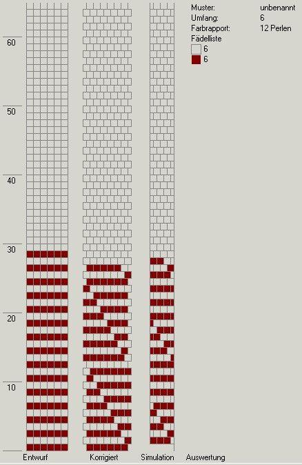 Schlauchketten Häkeln Musterbibliothek 6 Around Bead Crochet