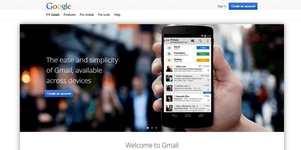 Gmail account login will give you access to Gmail inbox. Set up a Gmail new  account now to. Gmail email is the top best free mail service of our age