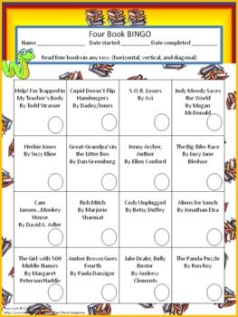 picture regarding 4th Grade Reading Games Printable referred to as 4 E-book BINGO (3rd quality)- Separate Reading through Sport
