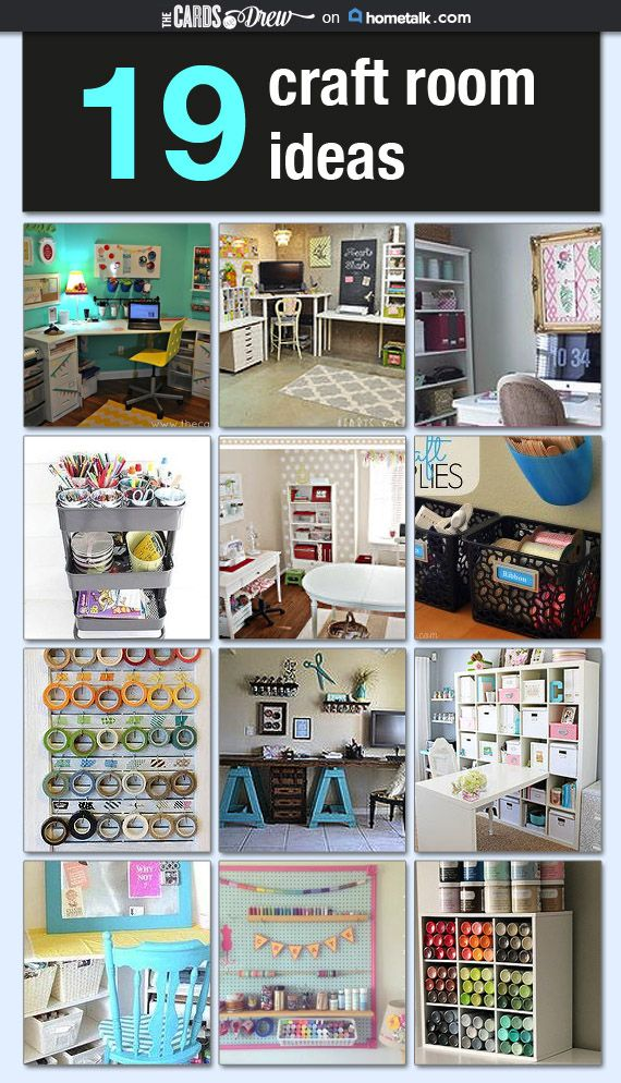 19 Craft Rooms That Have It All Figured Out Dream Craft Room Craft Room Craft Room Design