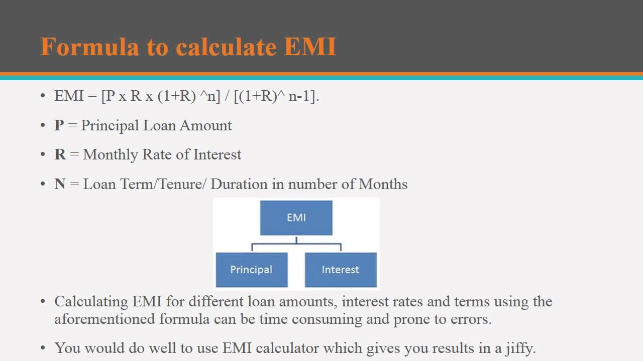 How To Calculate Your Loan Emi By Using Loan Emi Calculator Personal Loans Financial News Financial Information