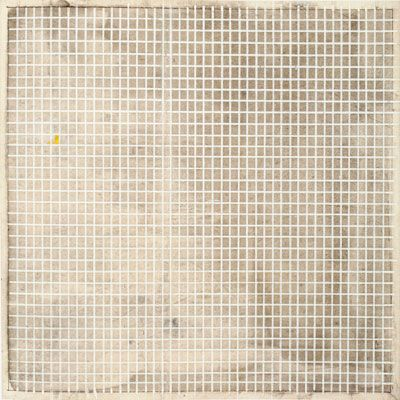 Agnes Martin, Untitled, 1964, The Museum of Contemporary Art, Los Angeles, the Barry Lowen Collection