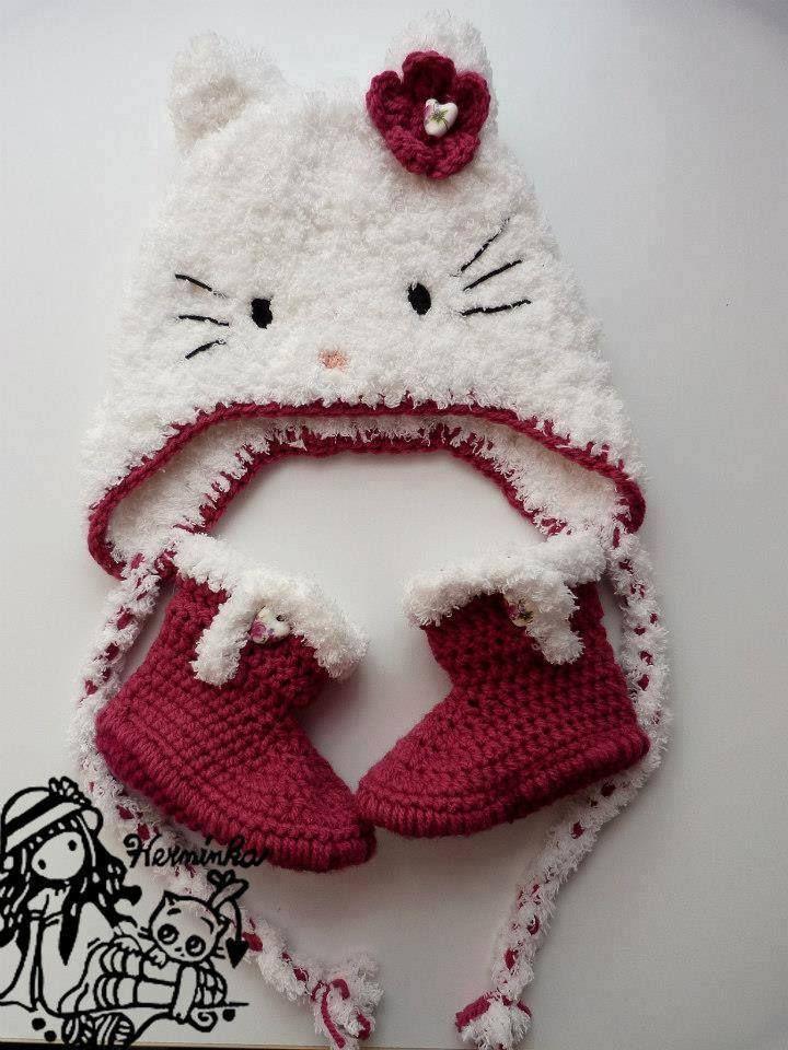Luty Artes Crochet: Sapatinho de bebê e toucas. | tocas de bichinhos ...