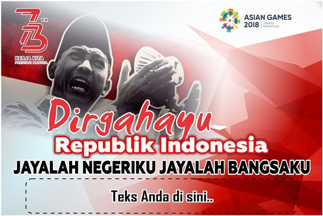 Banner Spanduk Hut Ri Dirgahayu Indonesia Merdeka Spanduk Indonesia Gambar Bergerak