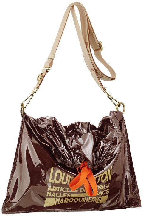 Louis Vuitton Raindrop Besace Trash Bag Fashion