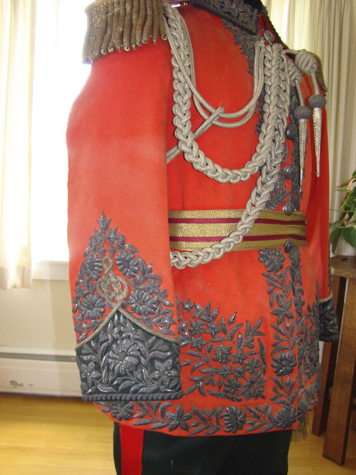 Ornate dress uniform colinchief gurkhas king of nepal victoria