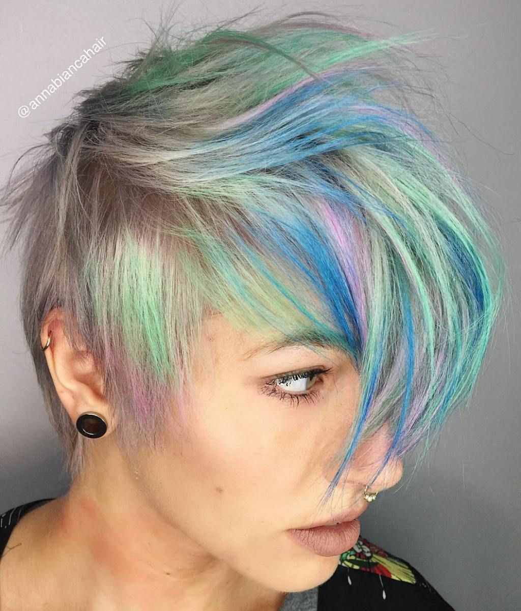 most gorgeous mohawk hairstyles of nowadays hair pinterest