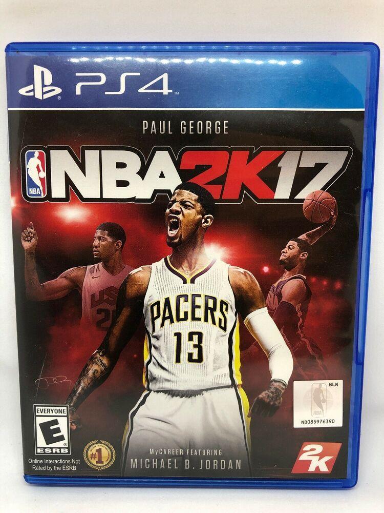 NBA 2K17 (Sony PlayStation 4, 2016) ps4 gaming video