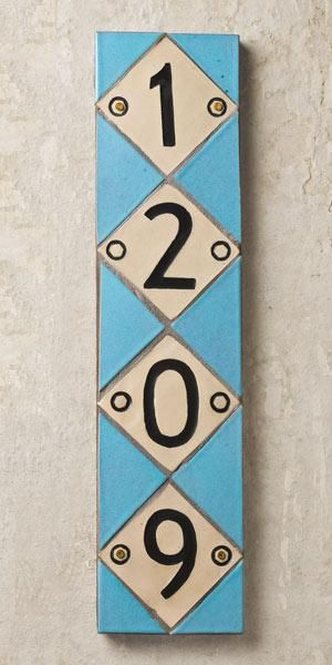 Ceramic House Numbers Pinterest Concrete Number And House - Backer board cost