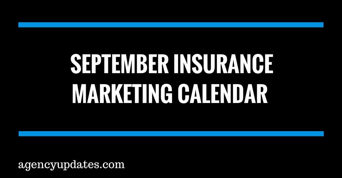 September Insurance Marketing Calendar Insurance Marketing Ideas - what is a marketing calendar