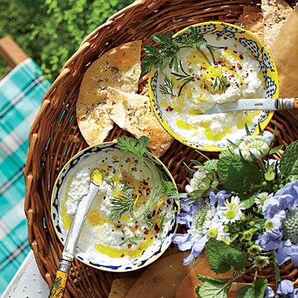 Buttermilk Ricotta Cheese Dip Recipe Easter Appetizers Ricotta Cheese Spring Appetizers