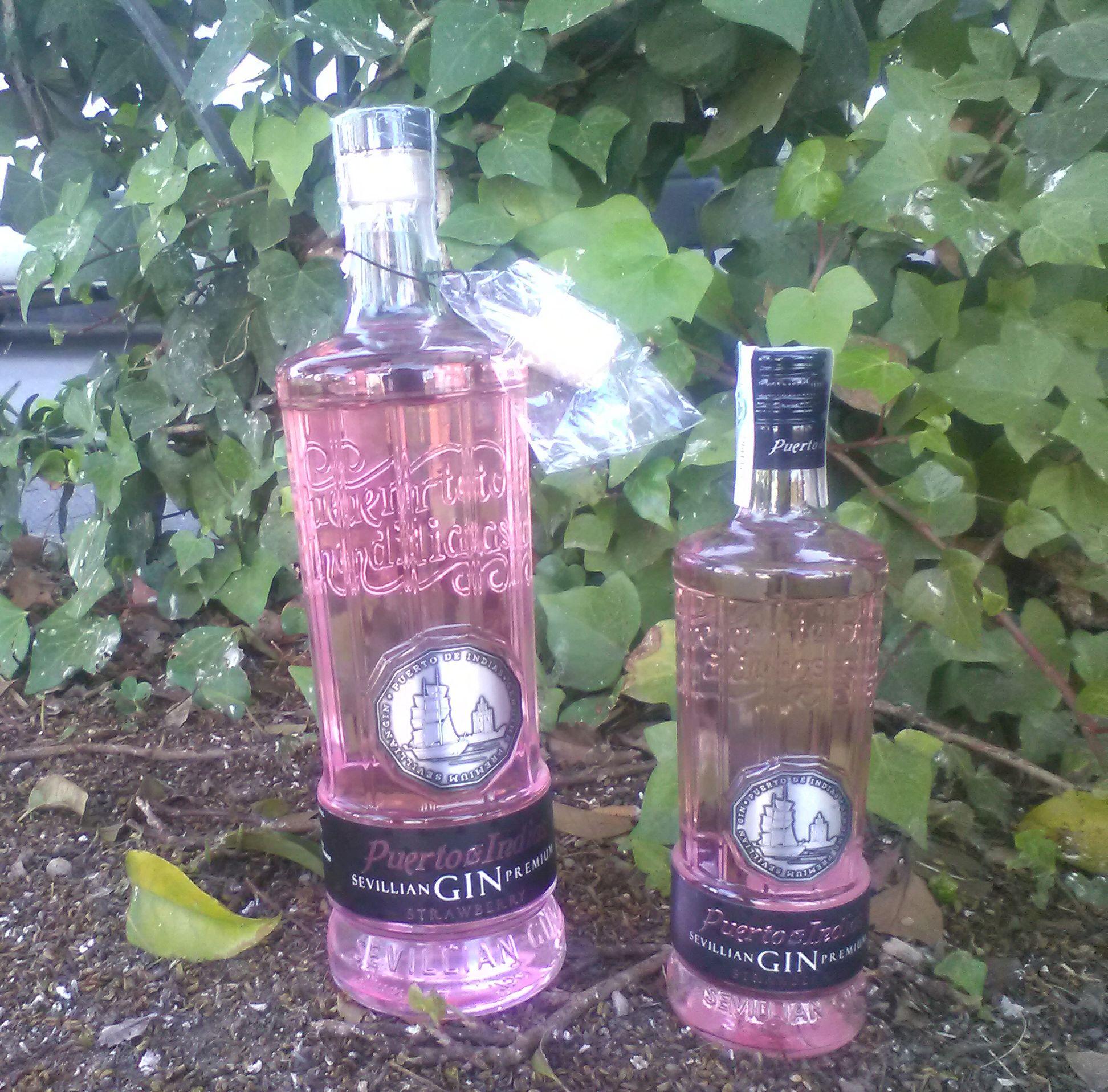 Nueva botella gigante de la ginebra sevillana premium puerto de indias strawberry 1 75 litros - Ginebra puerto de indias precio ...