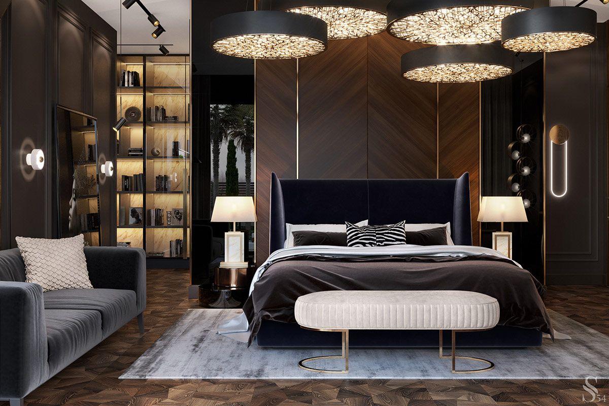 Luxury Modern Moroccan Interior Design Luxury Bedroom Design Luxurious Bedrooms Bedroom Interior Bedroom design modern contemporary