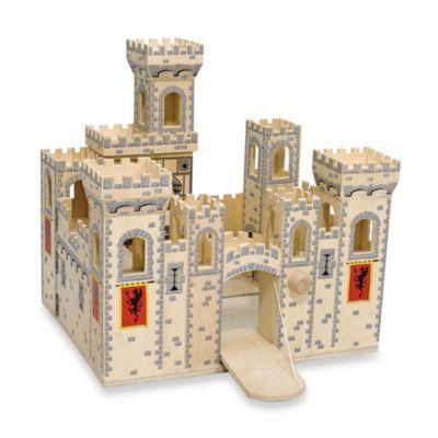 Melissa & Doug® Deluxe Folding Medieval Castle - BedBathandBeyond.com