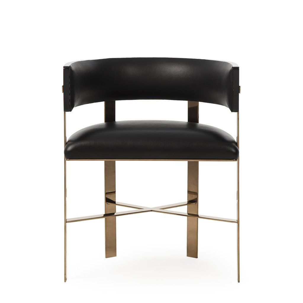 Art Dining Chair - Black Leather | chairs | Pinterest | Dining ...