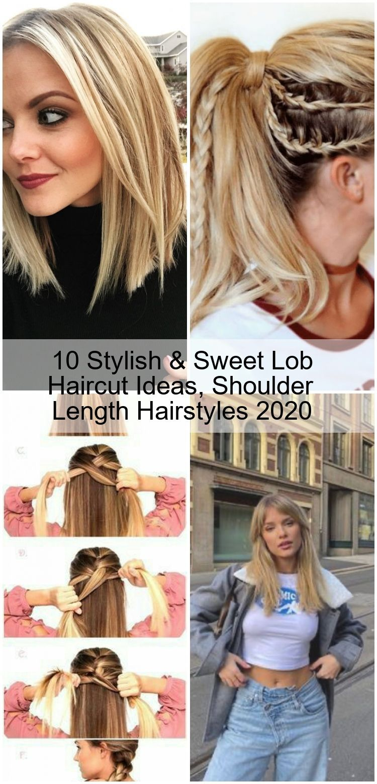11 Stylish & Sweet Lob Haircut Ideas, Shoulder Length Hairstyles
