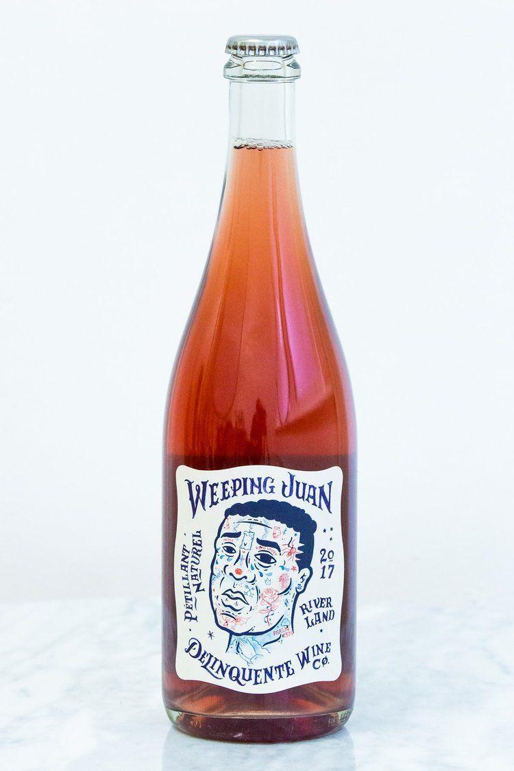 Delinquente Wine Co Wine Bottle Rose Wine Bottle Wine