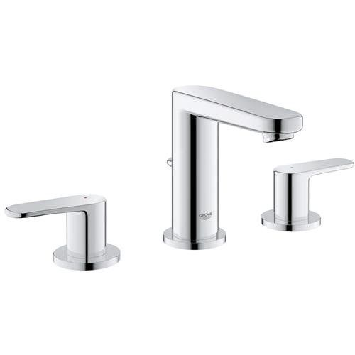 Grohe G20302000 Europlus 8 Widespread Bathroom Faucet Chrome