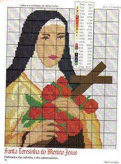 Gráficos ponto cruz da drica: Religiosos
