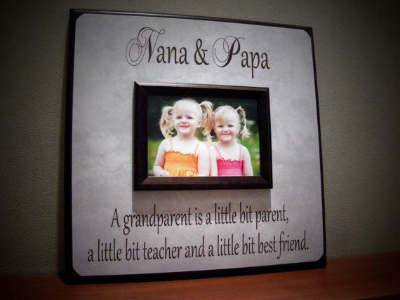 personalized grandparents picture frame nana by yourpicturestory - Nana Picture Frame