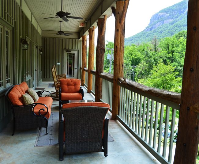 Lake Lure Hotel Lodging In Chimney Rock Nc At The Esmeralda Inn River Was Right