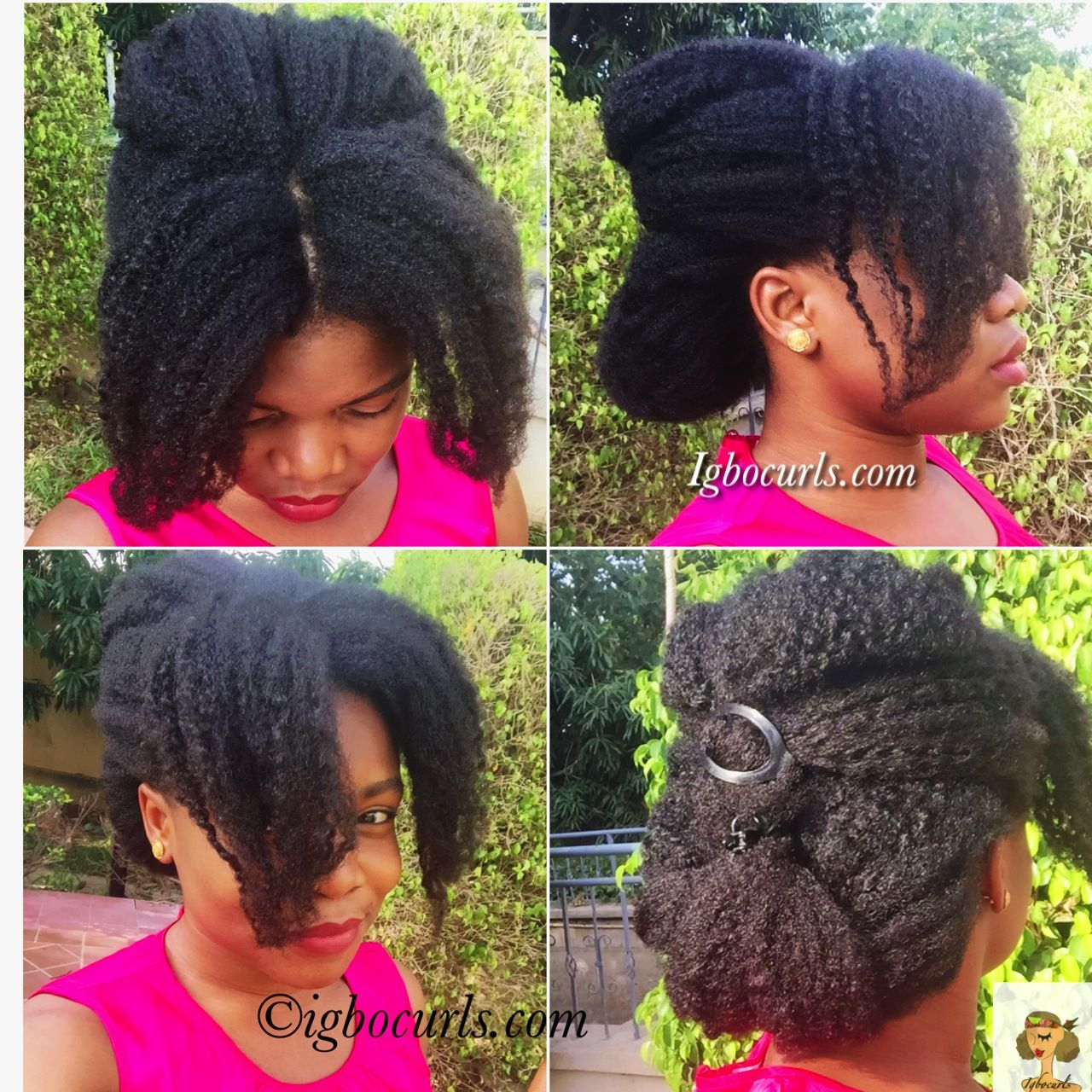 Igbocurls- Bouffant Hairstyle
