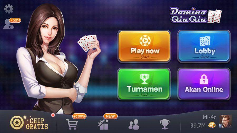 Play Domino Qiu Qiu Online Kartu Uang Mainan