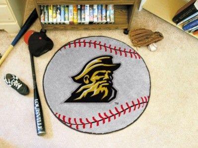Appalachian State ASU Mountaineers Baseball Area Rug Welcome/Door/Bath Mat