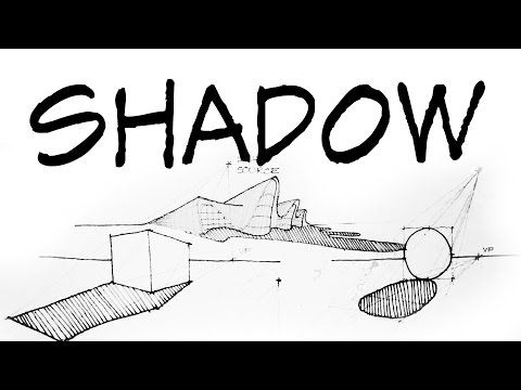 How To Draw Perspective Shadow Architecture Daily Sketches