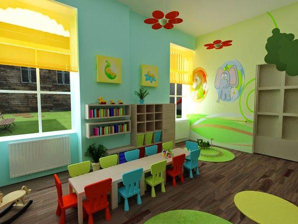 Classroom Mural Design ~ Design inspiration beautiful model school kindergarten a