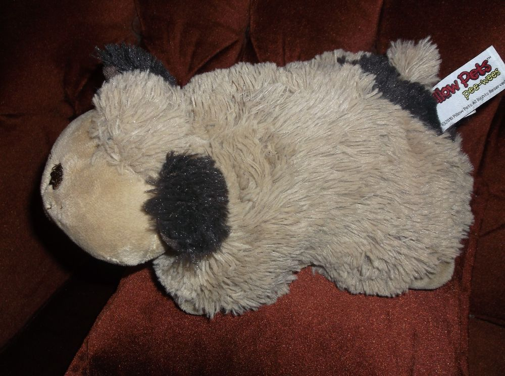 Pillow Pets Pee Wees Pillow Dog Puppy Brown Tan 2005 Self ...